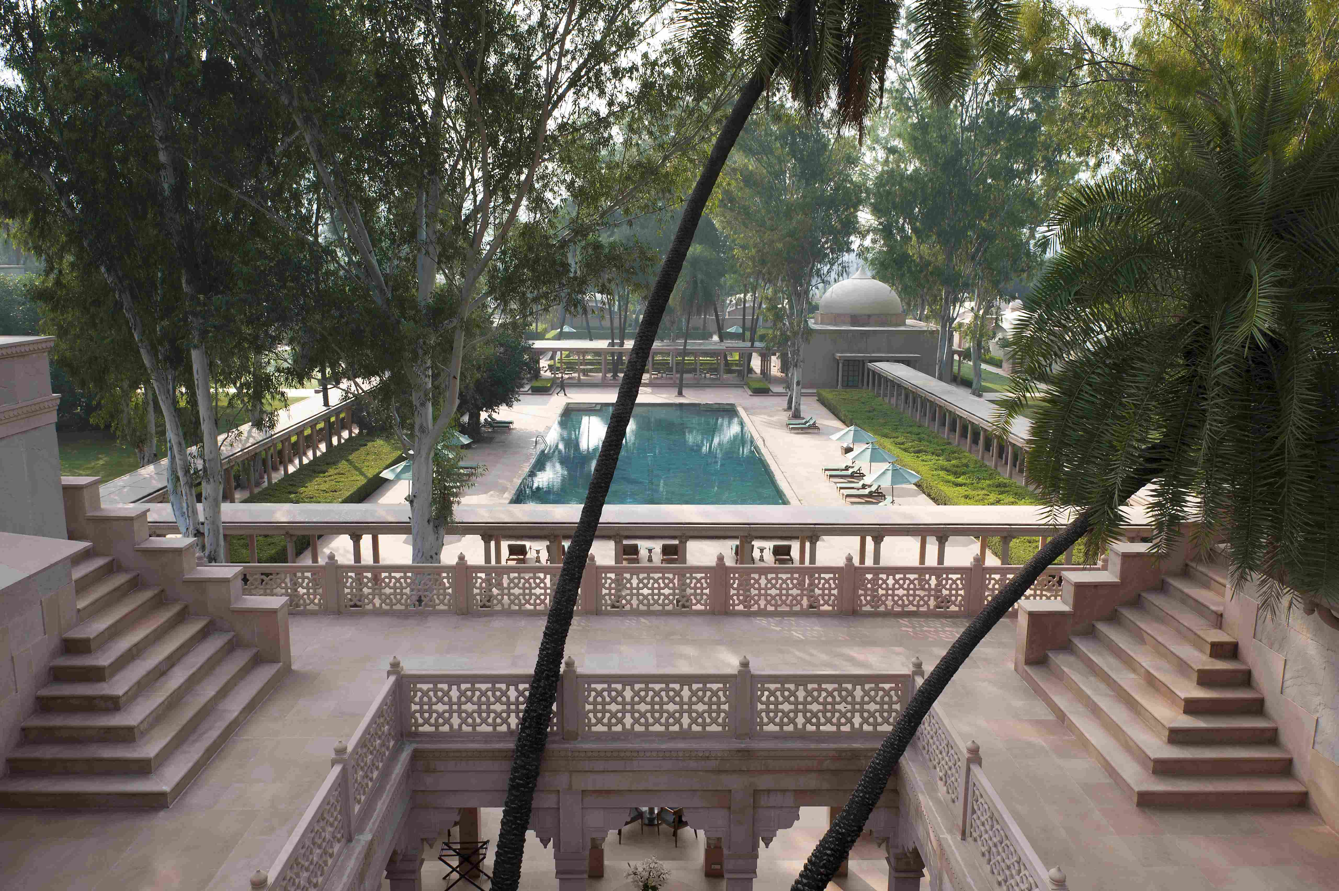 AMANBAGH Library Terrace