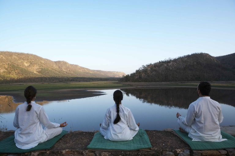 AMANBAGH Meditation at Somsagar Lake