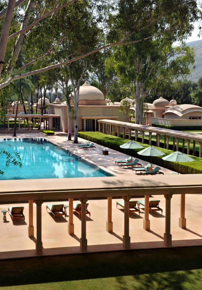 AMANBAGH Resort Swimming Pool