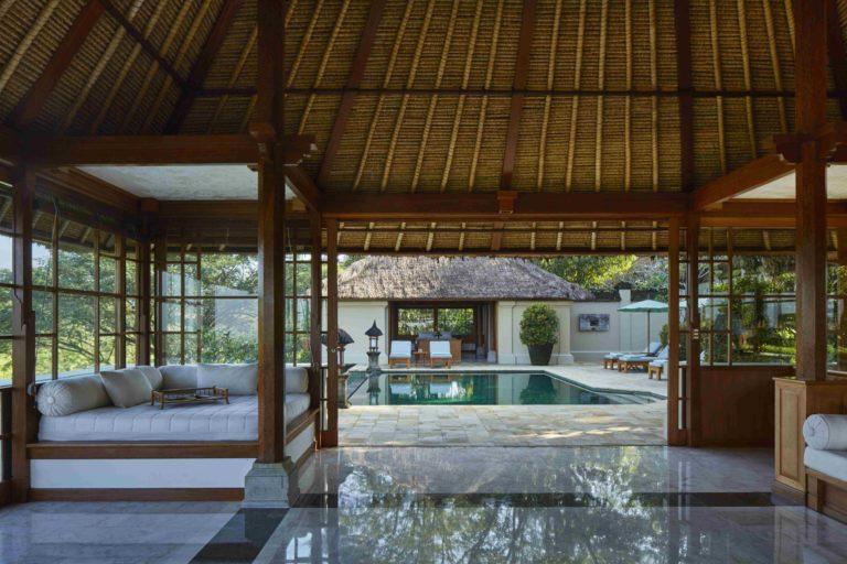 amandari villa living area
