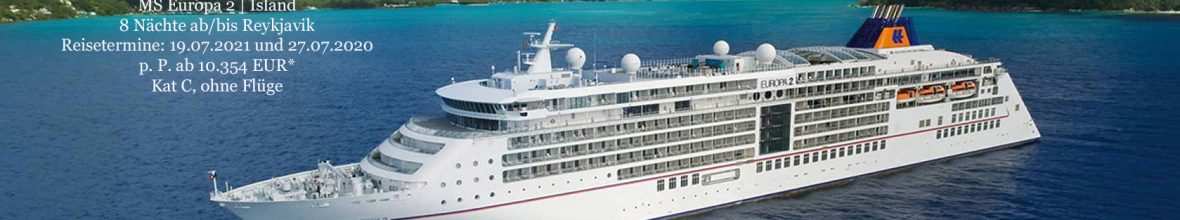 Hapag-Lloyd Cruises: MS EUROPA 2